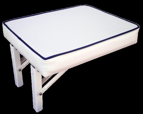 Wandsitz aufklappbar Modell Kos inklusive Bügel Weiss