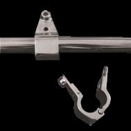 NIRO Schanier für Montage auf Railing Ø22mm