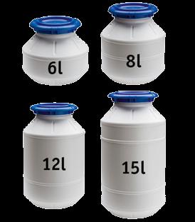 Wasserdichte Container 6l H=200