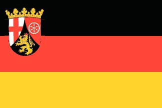 Rheinland-Pfalz Flagge 20x30cm