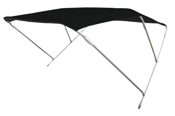 Aluminium Sonnen-Top Modell Wilma Schwarz 180x110x110cm