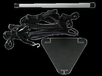 Universal-Planen-Unterstützungsatz Teleskopisch 50-116cm