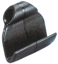 Kunststoff Spannhaken Schwarz