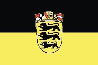 Baden-Württemberg Flagge 20x30cm