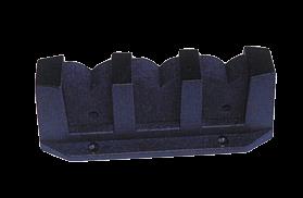 Kunststoff Halter für 3 Angelruten max. Ø38mm