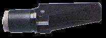 Verstellbarer Expansionsstopfen Ø22-27mm Schwars