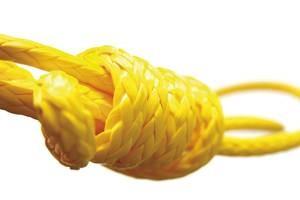 DYNA ONE Schot/Fall gelb 6mm