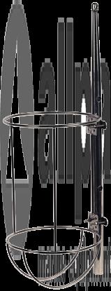 Fenderhalter Gerade Einfach Mass-6