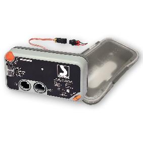 Elektrische Bravo Turbo Max Kit Luftpumpe 12V ( für permanente Installation auf Ihrem Boot )