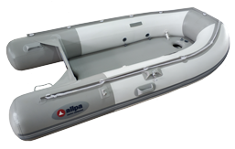 Schlauchboot allpa SENS330 Aluminium Boden Weiss/Blau