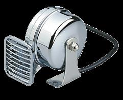 Messingverchromte Elektromagnetische Signalhorn Einklang L=105mm 12V ( 108dB(A)-490Hz )