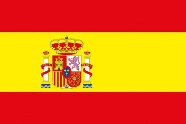 Spanische Flagge 20x30cm