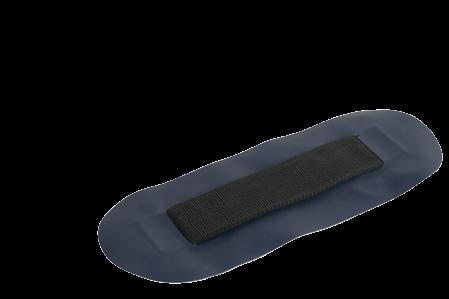 Klebestreifen für Sitzbrett für allpa Schlauchboot ( Blau )