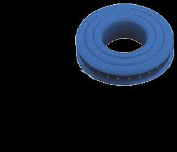 """Kunststoff Segelöse Ø14mm blau ( Wird mit Hammer gestanzt"""" ) ( Display-Karton 12 Stück )"""""""