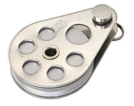 WICHARD-Block 50mm Aluminiumscheibe für 5mm