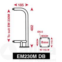 Echomax 230-DB NIRO Bügel für Deckmontage EM230-BR