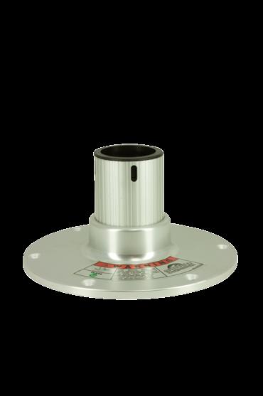 """Stahl Regatta Stuhl Fuß ( 4 5 ) H=114mm 360º mit Lock"""""""