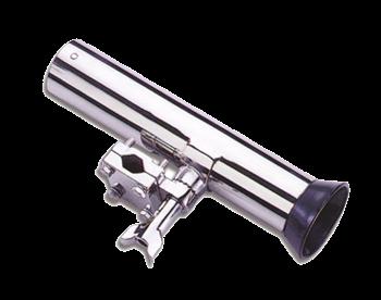 NIRO Verstellbare Angelrutenhalter für Relingsmontage ( Ø25mm ) L=250mm max. Ø40mm
