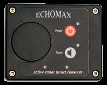 Echomax Active-XS-Dual-Band Radardoelverstärker ( RTE ) mit wasserdichtem Bedienpaneel
