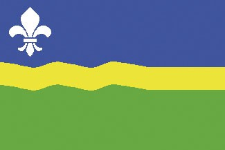 Flevoland Flagge 20x30cm