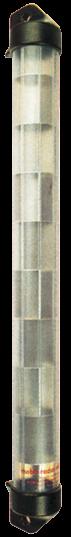 Radarreflektor Röhrenförmig mit Augen zum Vorheißen L=585mm Ø50mm