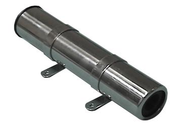 NIRO Angelrutenhalter für Seitenmontage L=260mm max. Ø45mm