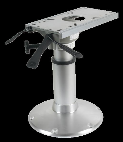 "Aluminium Mainstay Heavy Duty"" Stuhlfuß ( 360º Drehseibe + Lock ) mit Schlitten Teleschopische Gasd"