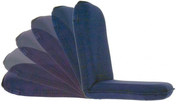 Klappstuhl- & Liegestuhl Modell Royal Queen Blau