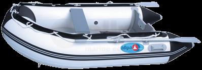 Schlauchboot allpa SENS390 Aluminium Boden Weiss/Blau