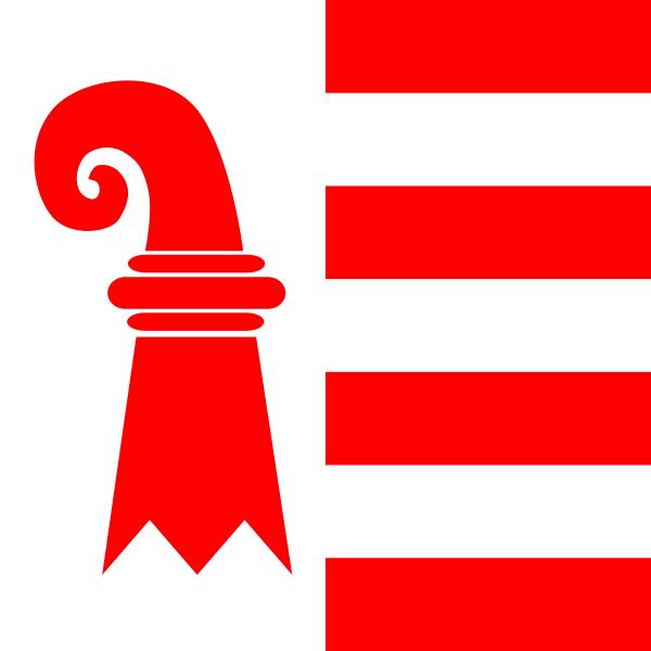 Jura Flagge 20x30cm