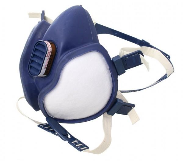 3M gasfiltrierende Atemschutz-Halbmaske A1/P1