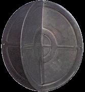 Kunststoff Signalball zusammenlegbar Ø350mm Schwarz
