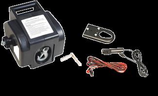 Elektrische Trailerwinde 12V Max. 40A Inklusive Fernbedienung