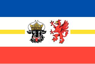 Mecklenburg-Vorpommern Flagge 20x30cm