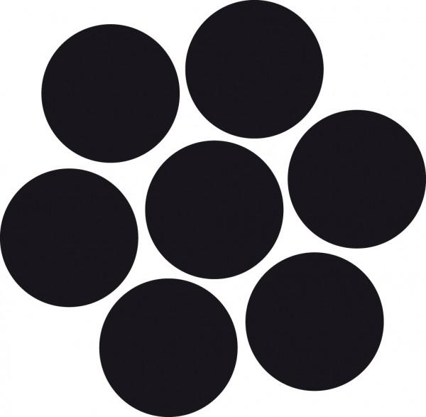 Edelstahldraht Wst.1.4401 1 x 7 3.0mm