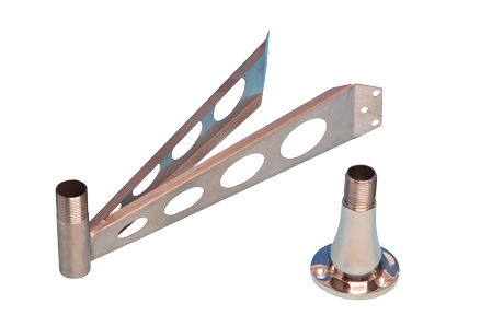 NIRO Offset Mastbügel für Echomax Active-X & XS-Band ( RTE )