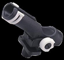 Kunststoff Angelrutenhalter für Decksmontage max. Ø42mm