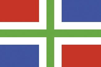 Groningen Flagge 20x30cm