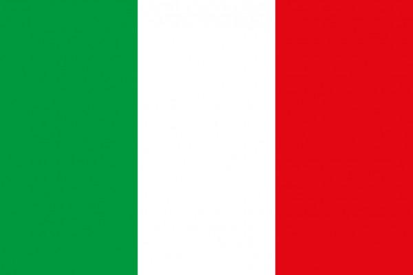 Italienische Flagge 20x30cm