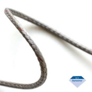 DynaOne MAX HS statisches Seil grau 3mm