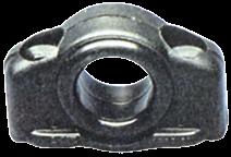 Kunststoff Leitöse Max. Ø12mm Schwarz