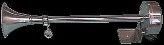 NIRO Elektromagnetische Signalhorn Einklang L=400mm 12V ( 115dB(A)-380Hz )