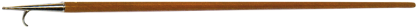 Holzerne Bootshaken L=2100mm