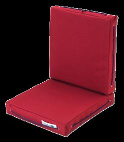 Klappstuhl- & Liegestuhl Modell Royal King Rot