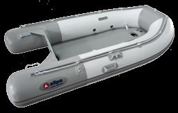 Schlauchboot allpa SENS265-Air Aufblasbarer Boden Weiss/Blau