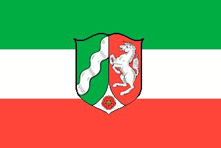 Nordrhein-Westfalen Flagge 20x30cm