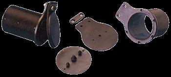 Große Selbstlenzer mit Rückhalteklappe Ø66 L=92mm