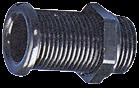 Kunststoff Lenzrohr Ø22mm H=155mm Schwarz