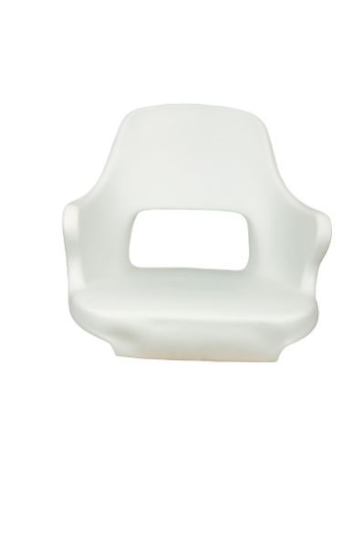 Schalensitz Modell Kreta Weiss