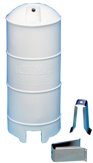 Echomax EM230-BR Radarreflektor mit NIRO Mastbügel Weiss ( Wheel Mark )
